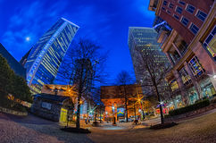 Downtown of charlotte north carolina Stock Photo