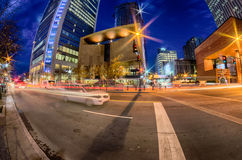 Downtown of charlotte north carolina Royalty Free Stock Photo