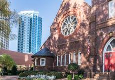 Downtown Charlotte North Carolina Stock Images