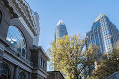 Downtown Charlotte North Carolina Stock Photography