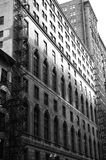 Downtown Chicago. Black and white photo of downtown Chicago royalty free stock photo