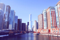 Free Downtown Chicago Royalty Free Stock Photos - 29794068