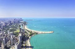 Downtown of Chicago royalty free stock images