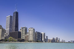 Downtown of Chicago Stock Image