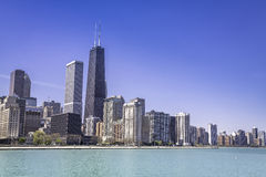 Downtown of Chicago Royalty Free Stock Photography