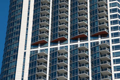 Downtown Chicago Apartment Buildings Royalty Free Stock Image