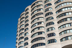 Downtown Chicago Apartment Buildings Stock Photography