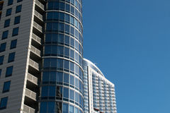 Downtown Chicago Apartment Buildings Royalty Free Stock Images