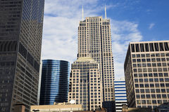 Downtown Chicago Buildings Royalty Free Stock Image