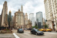 Downtown Chicago Royalty Free Stock Photography