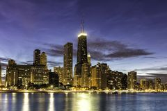 Downtown Chicago by dust Stock Photo