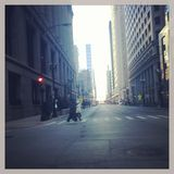 Downtown Chicago Illinois. Picture of buildings in chicago. Close to downtown Stock Photos