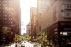 The downtown of Chicago in Illinois, USA Stock Photography