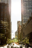 The downtown of Chicago in Illinois, USA Royalty Free Stock Photography
