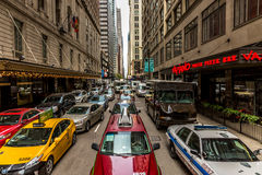 The downtown of Chicago, Illinois, USA Stock Photography