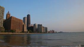 Downtown Chicago with John Hancock Center Royalty Free Stock Photos