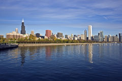 Downtown Chicago panorama Stock Image
