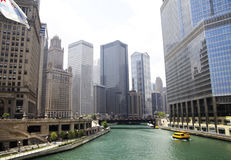 Free Downtown Chicago River Royalty Free Stock Photography - 29625987