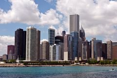 Downtown Chicago Skyline Stock Photos
