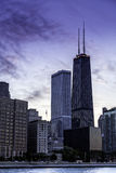 Downtown Chicago skyline royalty free stock photography
