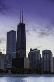 Downtown Chicago skyline Stock Photo