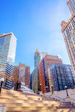 Downtown Chicago View Royalty Free Stock Photo