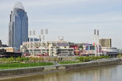 Downtown Cincinnati, the Queen City Stock Photo