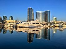 Downtown city beautiful skyline, San Diego, California, USA Royalty Free Stock Image
