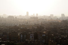 Downtown city of Cairo (Egypt) Royalty Free Stock Images