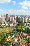 Downtown city center, buildings, hotels from tv tower, Curitiba, Stock Image