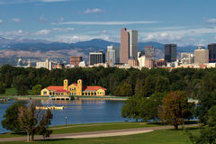 Downtown City of Denver, Colorado Stock Photo