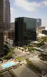Downtown City of Los Angeles, California Stock Images