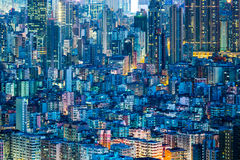 Downtown cityscape in Hong Kong Royalty Free Stock Photography