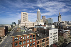 Downtown Cleveland Stock Images