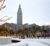 Downtown Cleveland Stock Image
