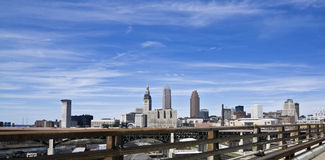 Downtown Cleveland Stock Photography