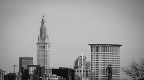 Downtown Cleveland Royalty Free Stock Image