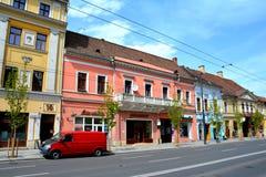 Downtown in Cluj-Napoca, Transylvania Royalty Free Stock Image