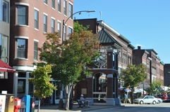 Downtown, Concord, New Hampshire Stock Photos