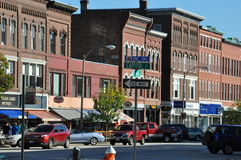 Downtown in Concorn, NH Royalty Free Stock Image