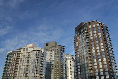 Downtown Condominiums Royalty Free Stock Photos