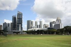 Downtown Core district of Singapore Royalty Free Stock Photos