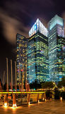 Downtown Core at Marina Bay in Singapore at night Stock Photography