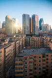 Downtown of the Dalian Royalty Free Stock Photography