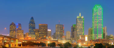 Downtown Dallas City, Texas, USA stock photography