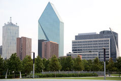 Downtown Dallas office buildings Stock Image