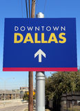 Downtown Dallas Stock Photo