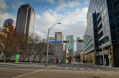 Downtown Dallas Texas. Royalty Free Stock Photo