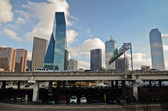 Downtown Dallas Texas Stock Photo