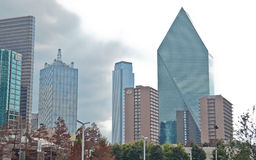 Downtown Dallas Texas. Modern buildings in Downtown Dallas, Texas Royalty Free Stock Images